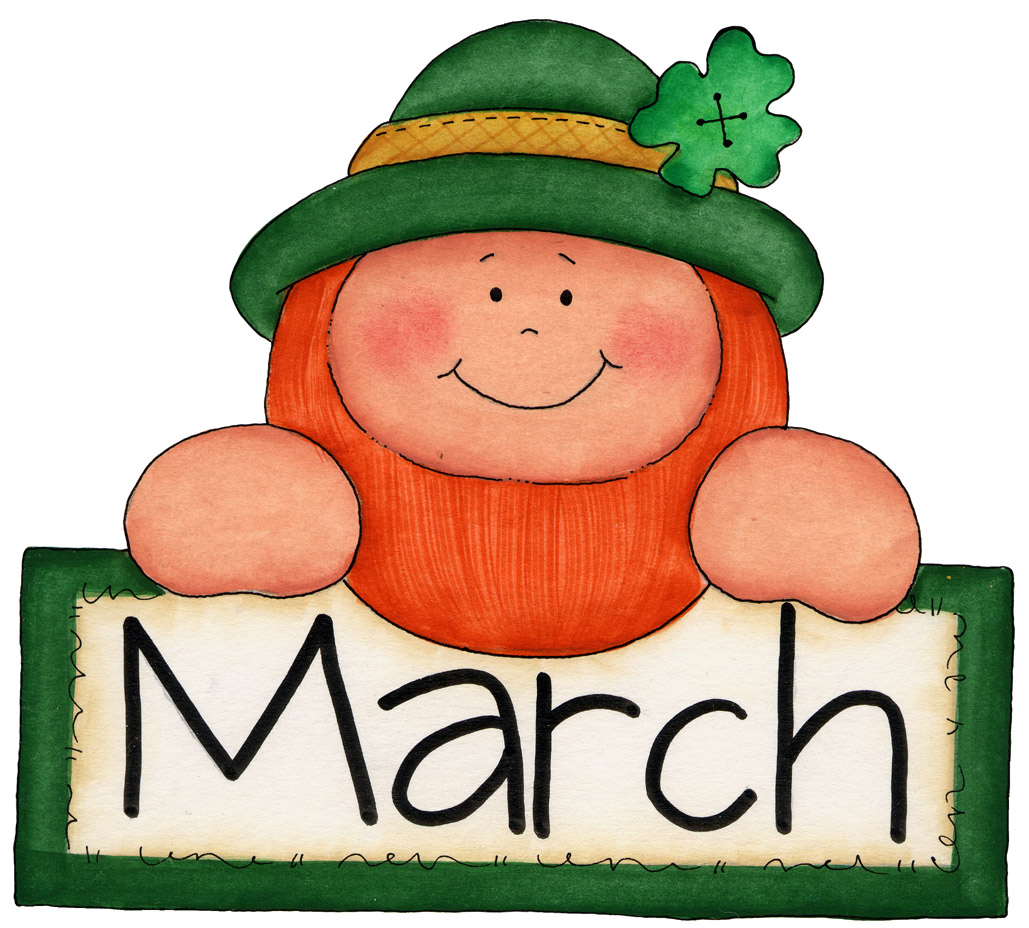1029x928 March Clipart