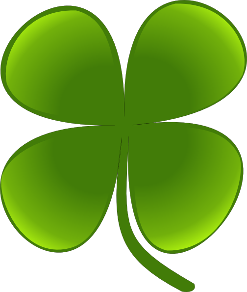 504x595 Shamrock For March Clip Art