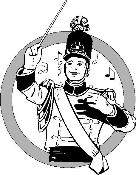 456x588 Marching Band Clipart
