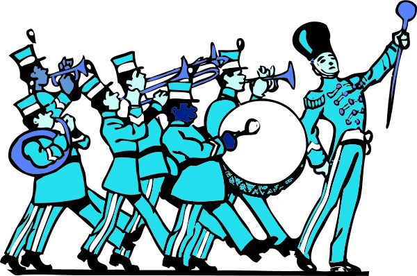 600x398 Marching Band Clipart Kid