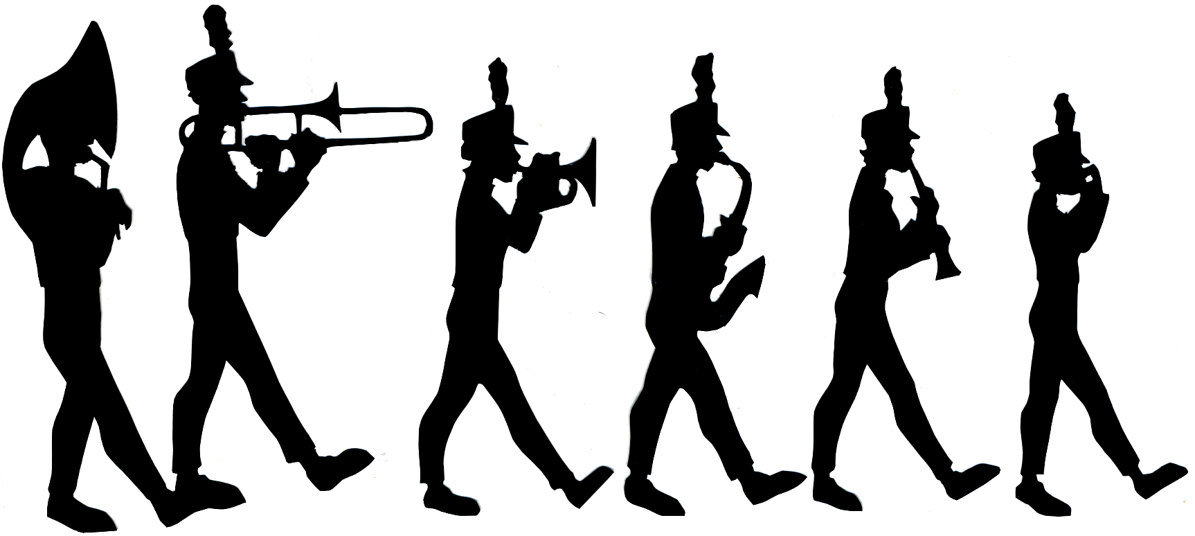 1726x774 Musician Clipart Marching Band