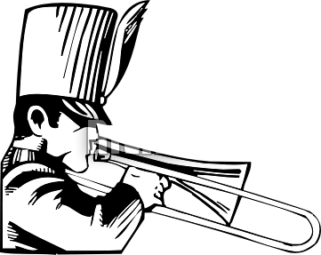 Marching Band Clipart Clarinet Marching Band I...