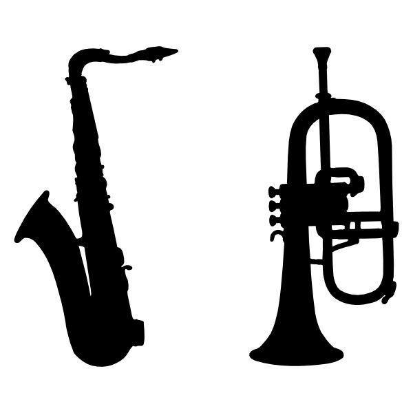 Marching Band Clipart Clarinet Marching Band Instrume...