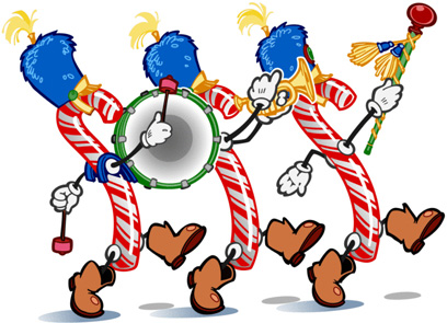 408x295 Christmas Parade Clip Art
