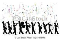 200x130 Sensational Design Parade Clipart Vector Clip Art Of Marching Band