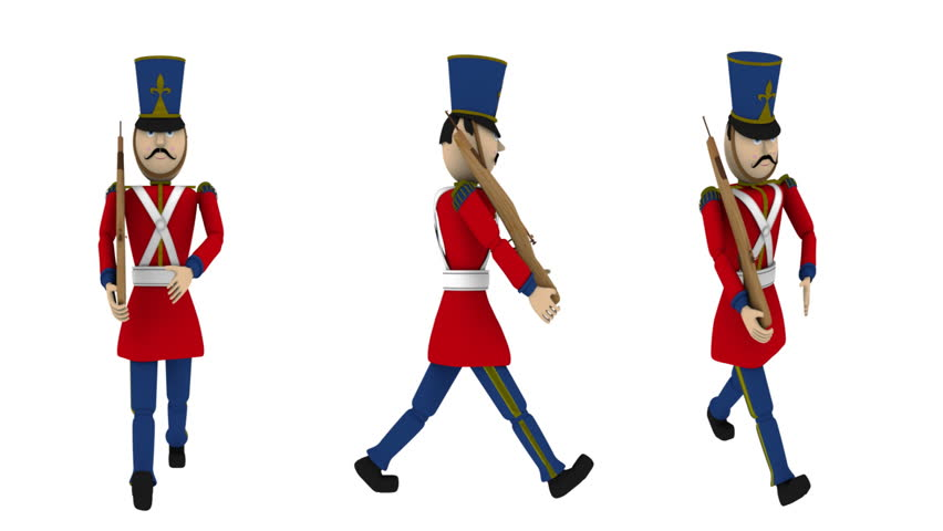 852x480 Soldiers Clipart Army Marching
