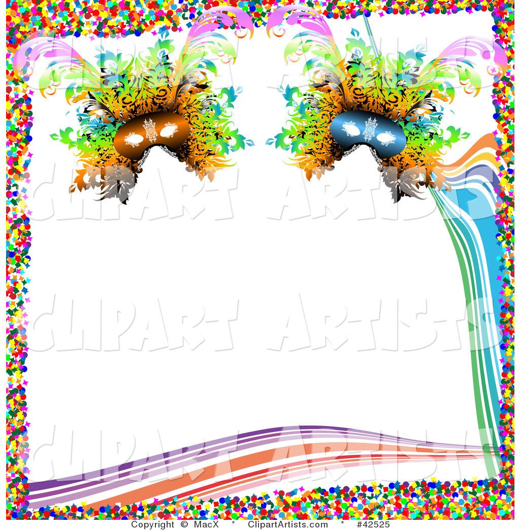 1024x1044 Clip Art Mardi Gras Border Clip Art