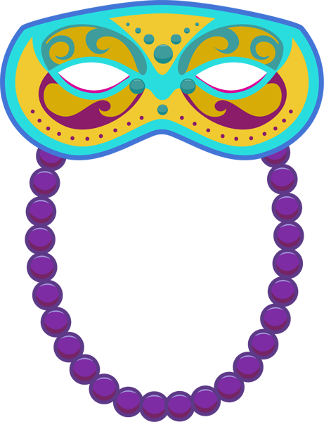 461x600 Clip Art Of Mardi Gras Mask Clipart Clipart Image 3
