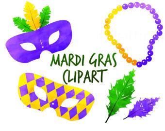 340x270 Digital Mardi Gras Etsy