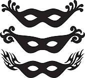170x156 Masquerade Clip Art