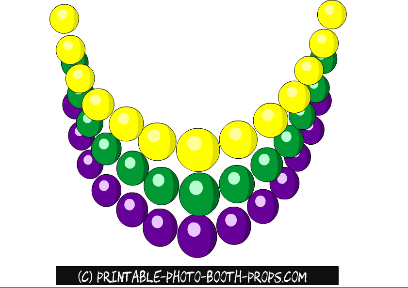 841x595 Free Printable Mardi Gras Photo Booth Props