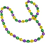 154x147 Mardi Gras Beads Clipart