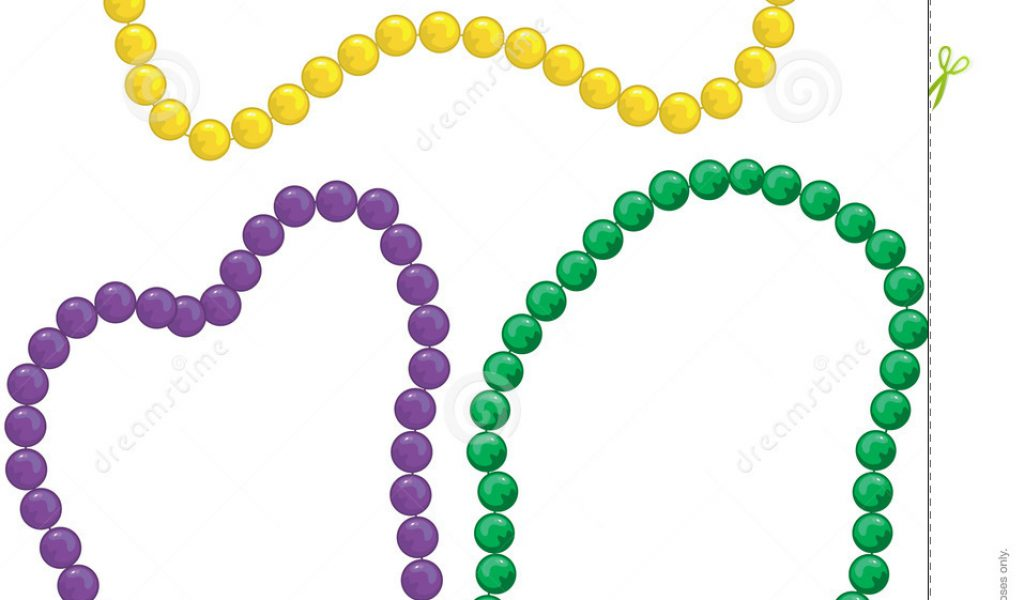 1024x600 Beads Clipart