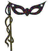 170x170 Stock Illustration Of Colorful Mardi Gras Beads K0223676