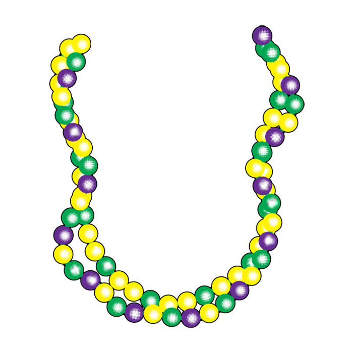 700x700 Mardi Gras Beads Clip Art Many Interesting Cliparts