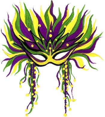 350x392 Theme Mardi Gras Mask Clip Art Clipartcow