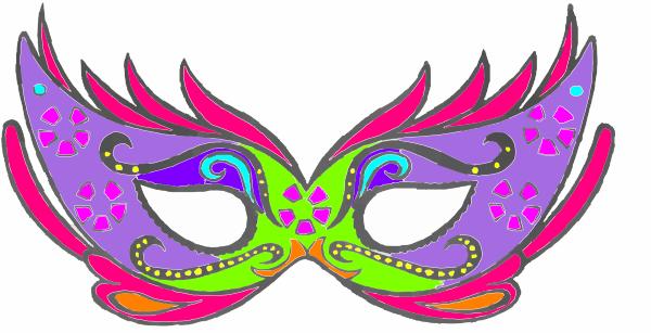 600x307 Masquerade Clip Art