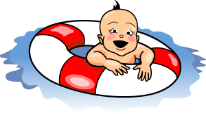 300x166 Floating Clipart