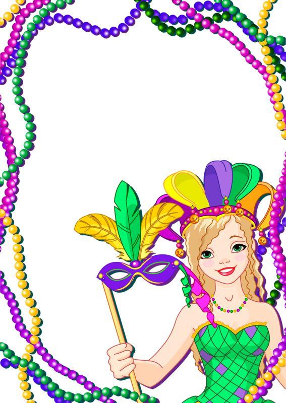 Mardi Gras Graphics Clipart