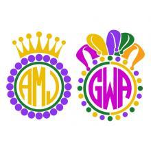 220x220 Mardi Gras Apex Embroidery Designs, Monogram Fonts Amp Alphabets