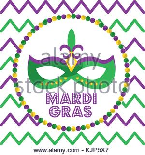 300x320 Mardi Gras Design Element, Fat Tusday Vector Background. Diamond