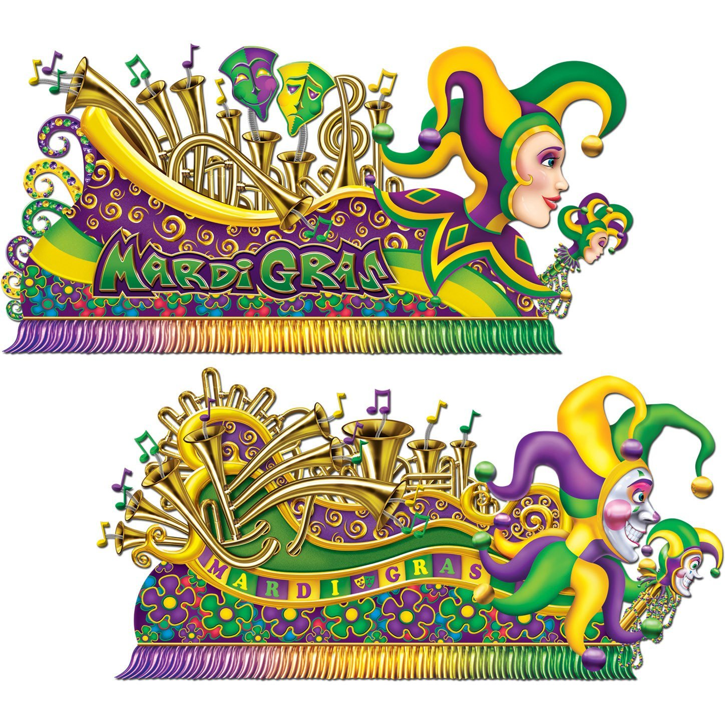 1448x1448 Mardi Gras Float Props Party Accessory (1 Count) (2