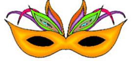 272x125 Mardi Gras Masks Clip Art On Mardi Gras Mask Clip Art