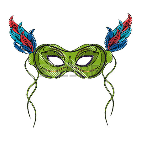 Mardi Gras Masks Images Clipart