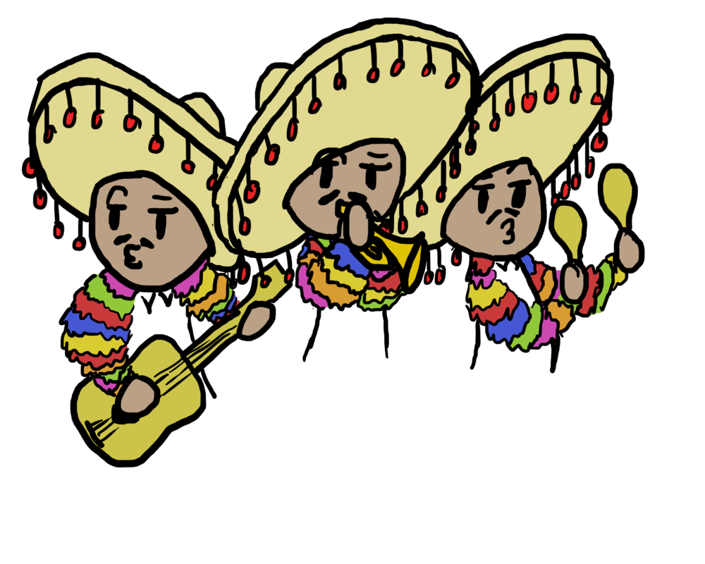 1000x800 Mariachi Band! For My French Project By Smeagol125