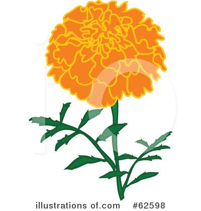 400x420 Marigold Clipart