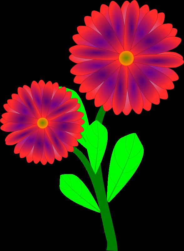 588x800 Top 96 Spring Flowers Clip Art
