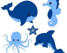 236x187 Sea Animals Clip Art Baby Sea Animals Clip Art Sea Animals Boy