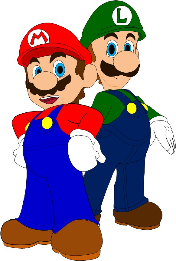 582x866 Mario Clipart Everyday Hero