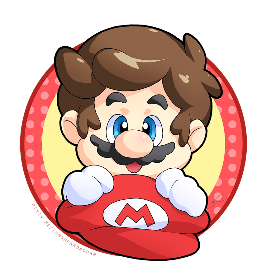 854x900 Mario (Character)