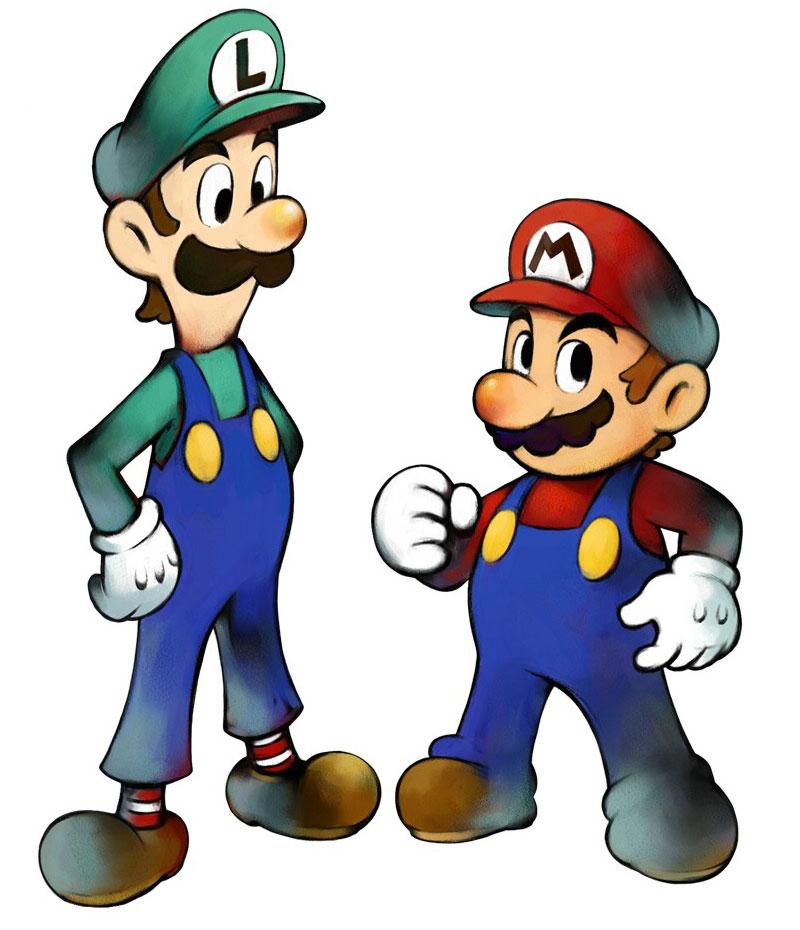 800x930 Mario Bros Clip Art