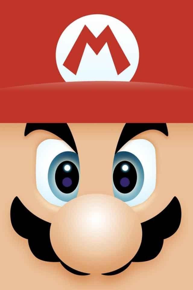 640x960 Mario Clipart Face