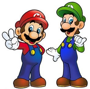 295x292 Mario Clipart Two Brother