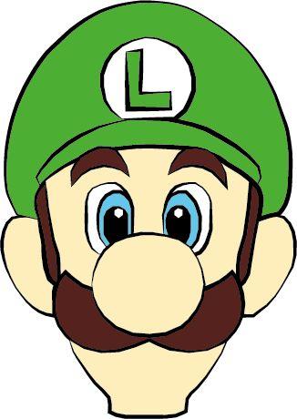 326x460 Mario Face Clip Art Clipart