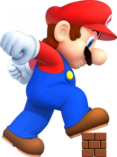 445x600 New Super Mario Bros. 2 Concept Art