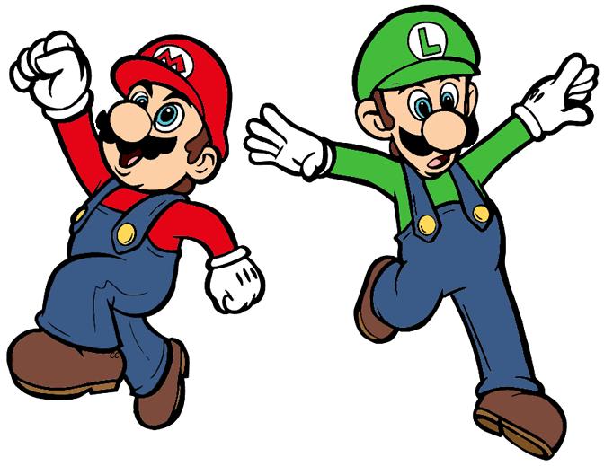 672x519 Super Mario Bros Clip Art Images