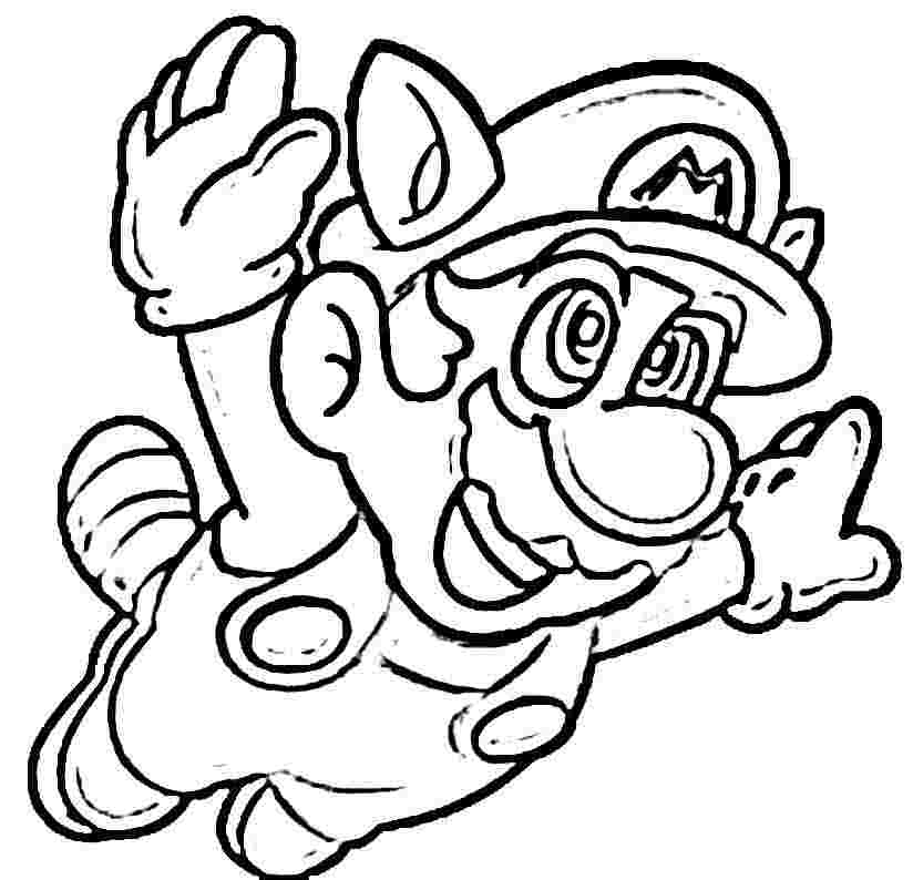 824x794 Super Mario Coloring Pages Online