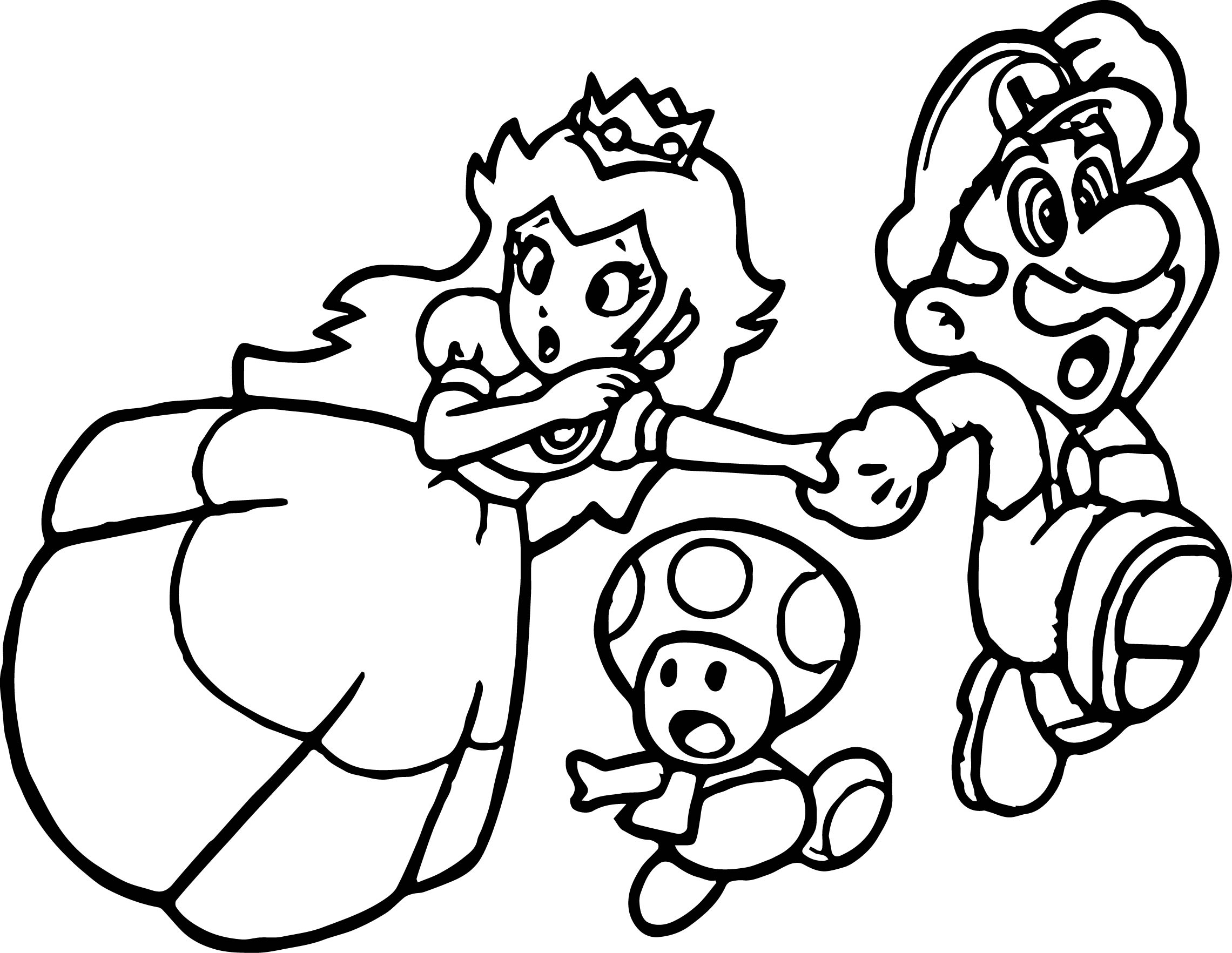 Mario Coloring Pages | Free download on ClipArtMag