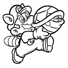 230x230 Top 20 Free Printable Super Mario Coloring Pages Online Adult