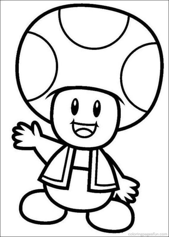 571x800 Wonderful Mario Bros Coloring Pages 82 For Kids With