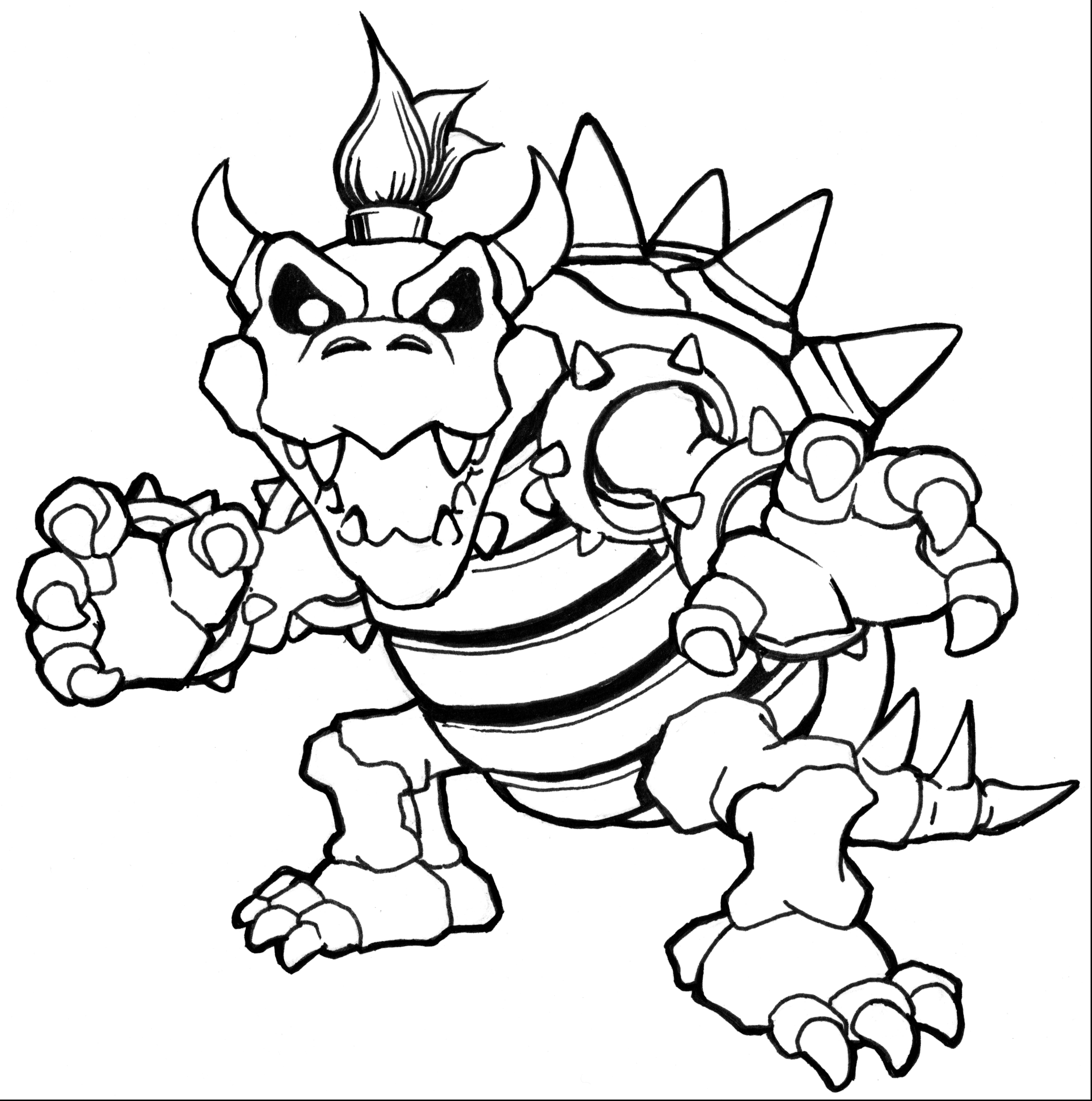 Mario Coloring Pages   Free download on ClipArtMag