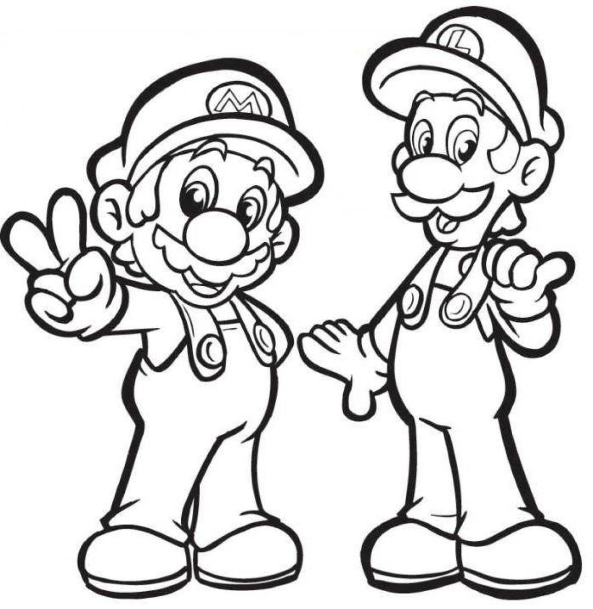 Luigi white. Collection of clipart free