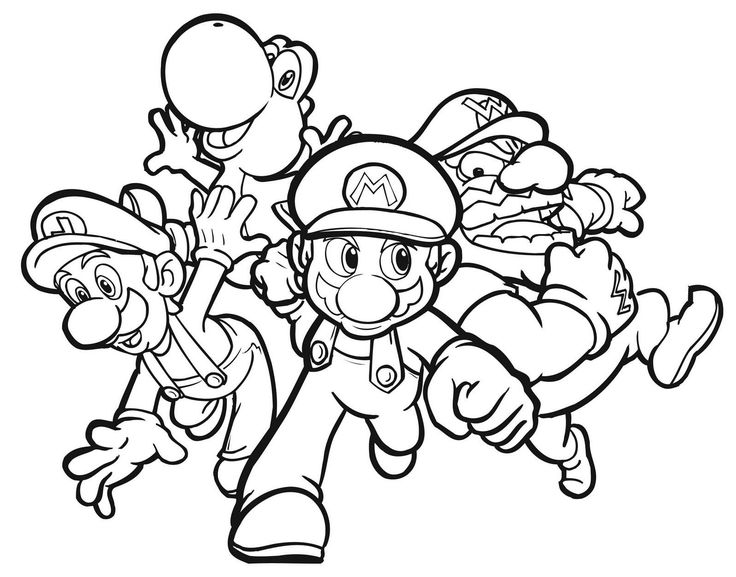 Mario Kart 8 Coloring Pages | Free download best Mario Kart 8 ...