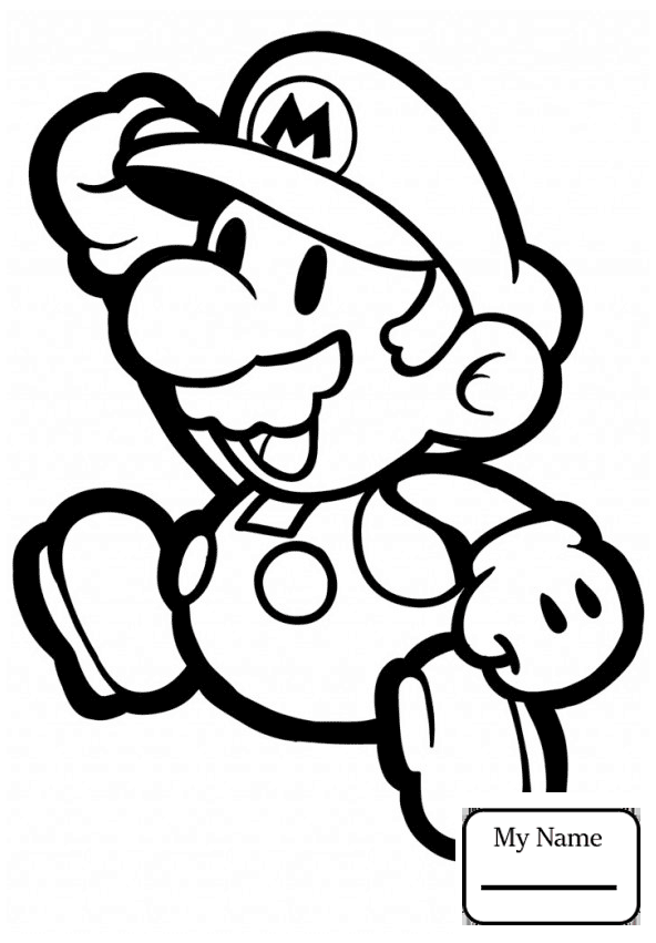 592x851 Luigi With Mario Cartoons Super Bros Coloring Pages