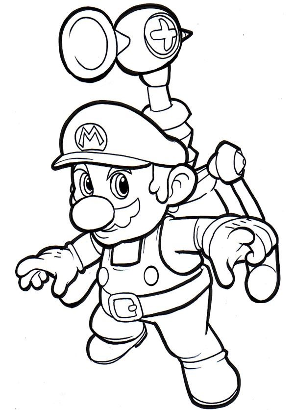 600x836 25 Best Mario Bros Color Images