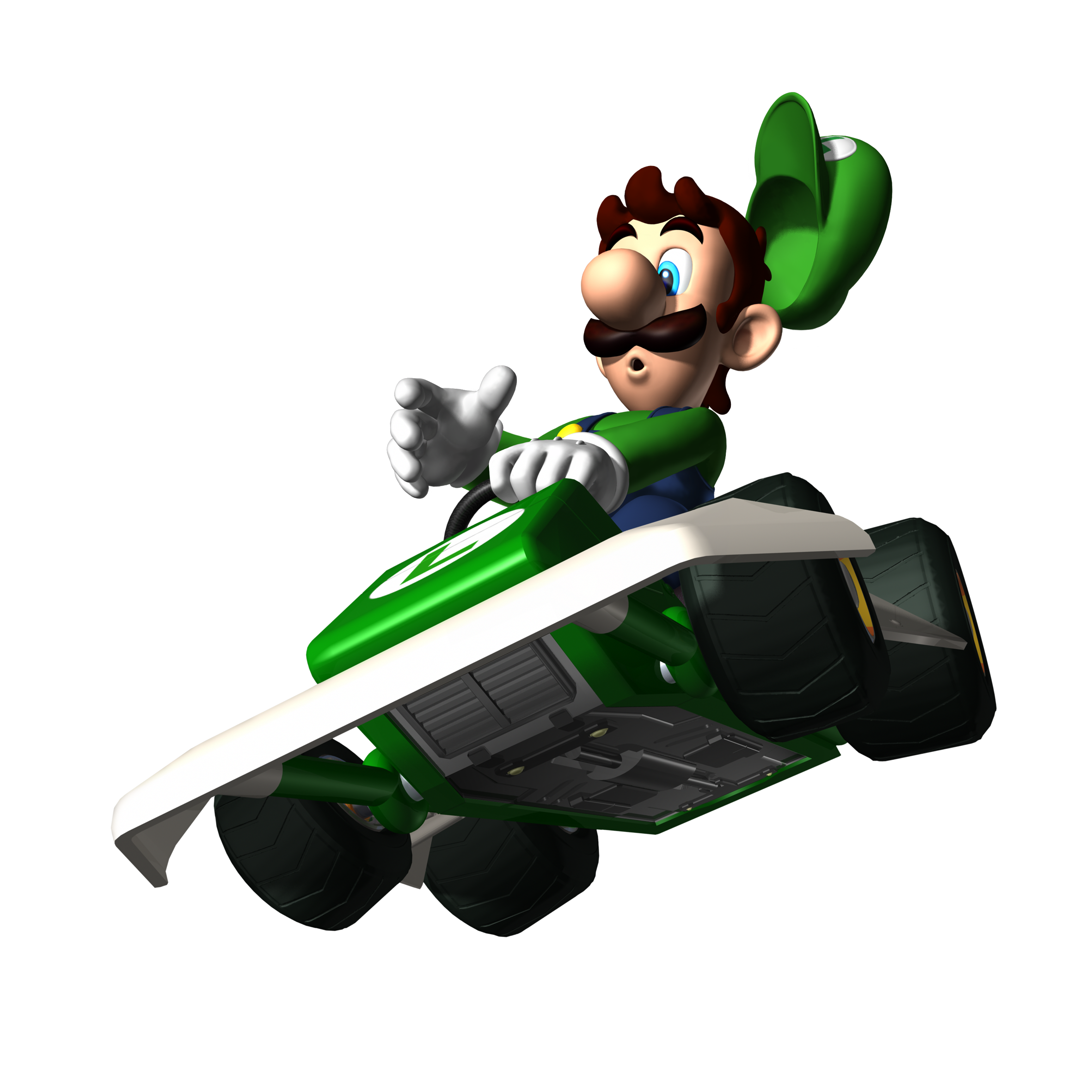 2362x2362 Mario Kart Ds (2005) Promotional Art